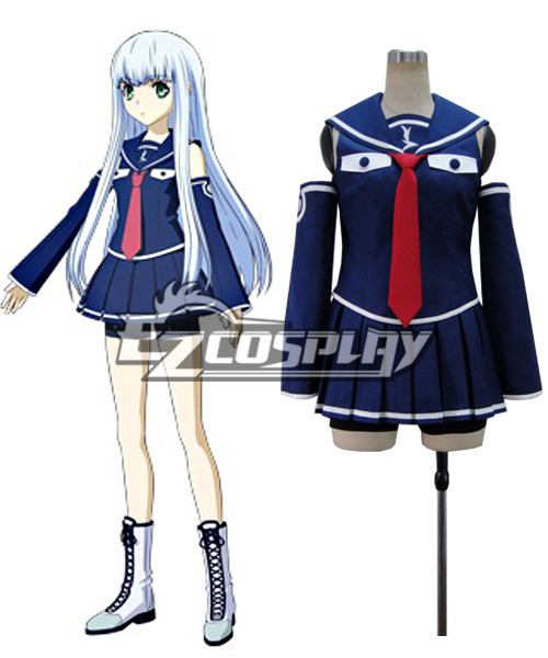 Arpeggio of Blue Steel iona sailor suit Cosplay Costume