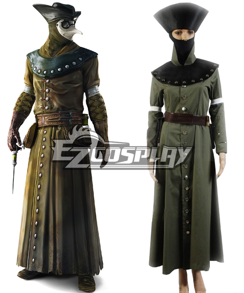 Assassin Creed Bortherhood Doctor Cosplay Costume