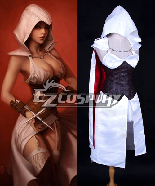 Assassin's Creed Female Version Sexy Cosplay Costume - Deluxe Ver.