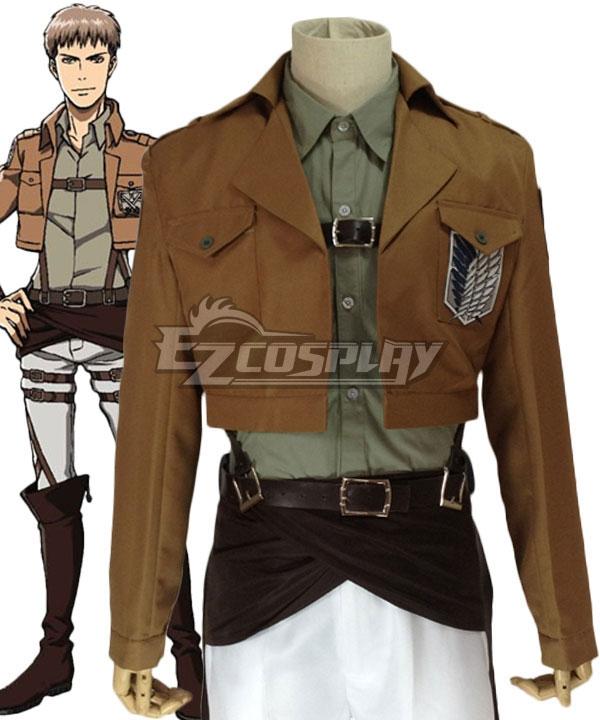 Attack on Titan Shingeki no Kyojin Jean Kirstein Survey Corps Cosplay Costume