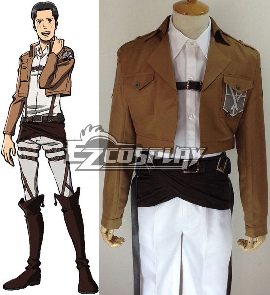 Attack on Titan Shingeki no Kyojin Marco Bott Training Corps Cosplay Costume