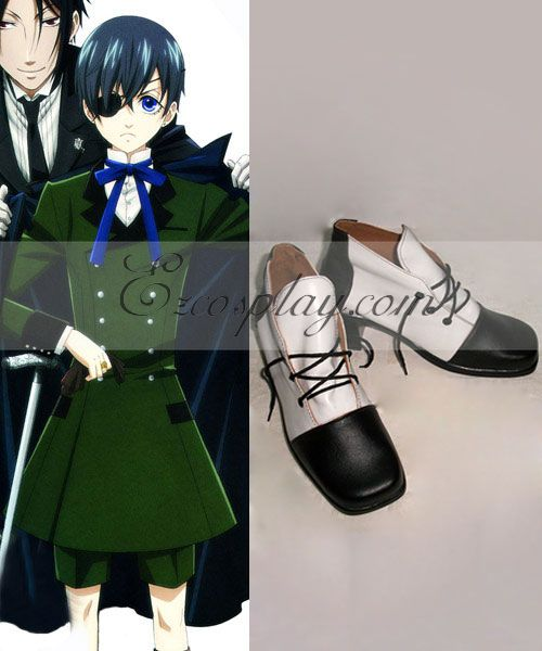 Black Butler Ciel Cosplay Shoes