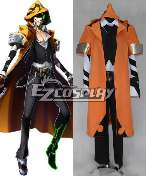 Blazblue Chrono Phantasma Terumi Yuki Cosplay Costume