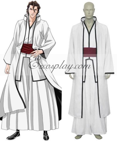 Bleach Aizen Sousuke Hollow Cosplay Costume