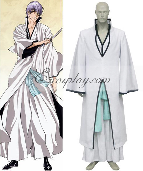 Bleach Ichimaru Gin Hollow Cosplay Costume
