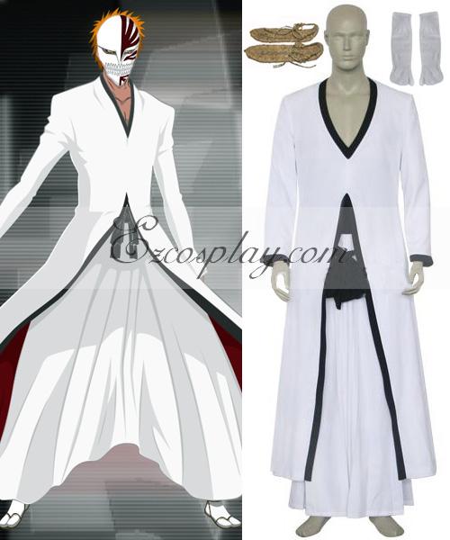 Bleach Kurosaki Ichigo Hollow Cosplay Costume