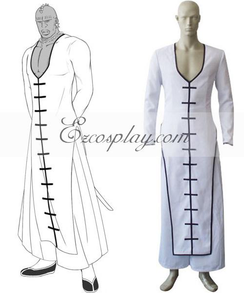Bleach Séptima Espada Zommari Rull Cosplay Costume