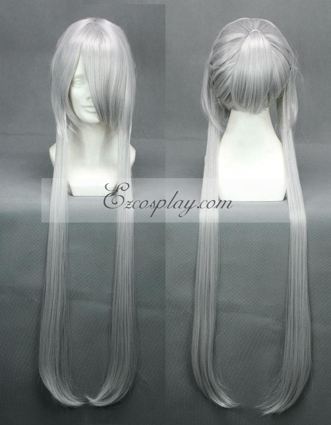 Brave10 Masamulou Sliver Cosplay Wig-261B