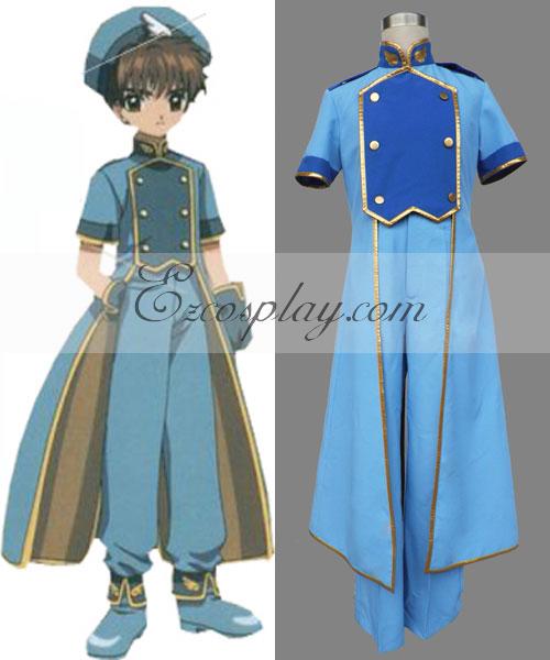 Cardcaptor Sakura Syaoran Li The Sealed Card Cosplay Costume
