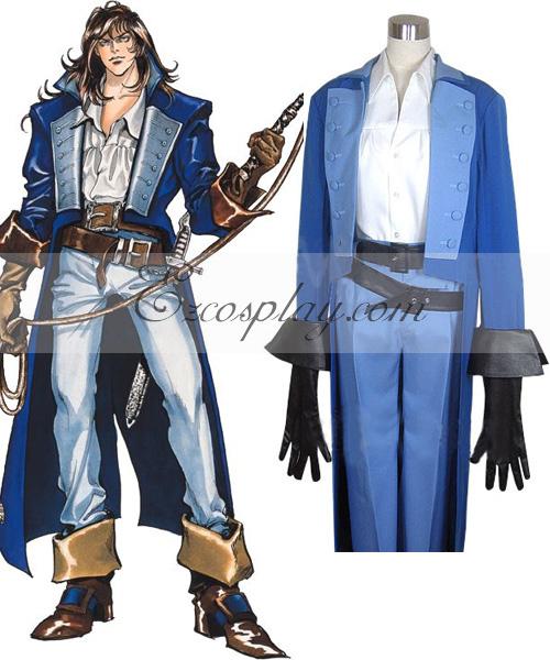 Castlevania Richter Belmont Cosplay Costume.com