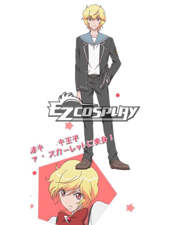 Cute High Earth Defense Club LOVE! Defense Club Yumoto Hokune Uniform Cosplay Costume