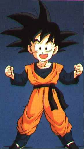 Dragon Ball Goten Practising Clothing Cosplay Costume