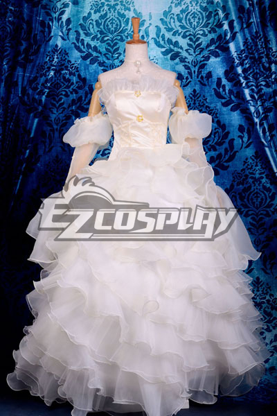 Image of Beautiful Euphemia Li Britannia Wedding Dress Cosplay Costume Code Gaess