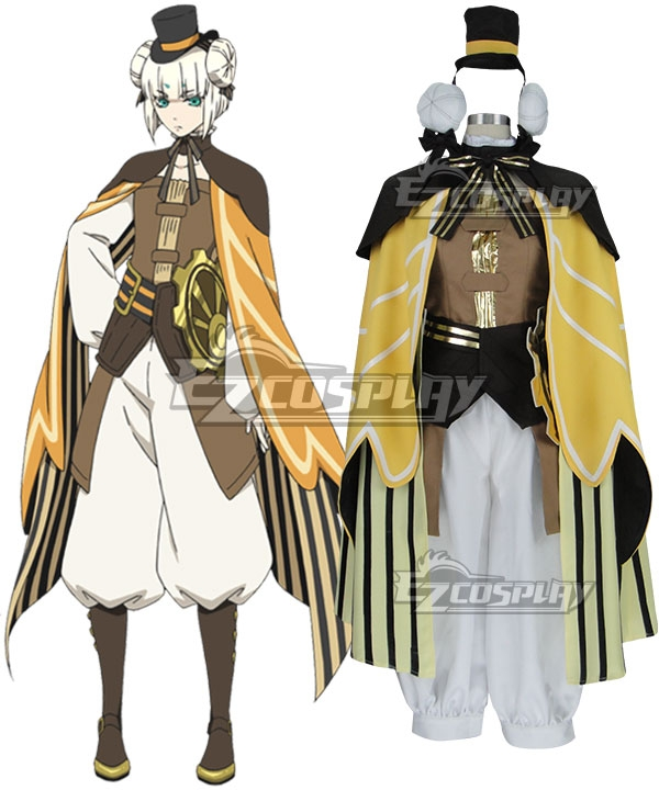 Code: Realize Guardian of Rebirth Finis Cosplay Costume