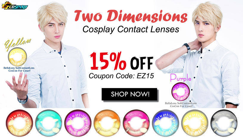 Cosplay Contact Lenses on sale