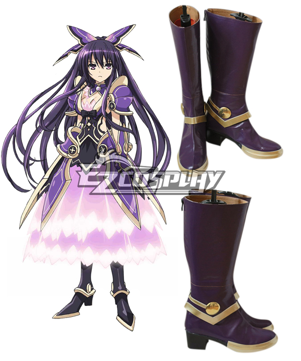 Image of Date A Live Yatogami Tohka Princess Cosplay Shoes
