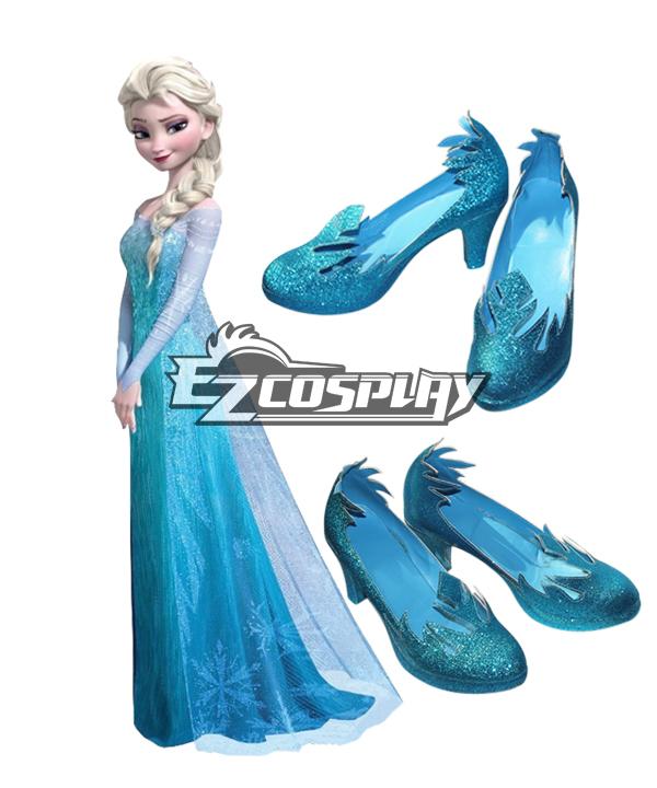Frozen Elsa Disney Cospaly Shoes None