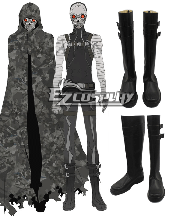 Cosplay Works Sword Art Online II Gun Gale GGO Characters Death Desu Gan Sterben Catagory Shoes Boots Gender Male