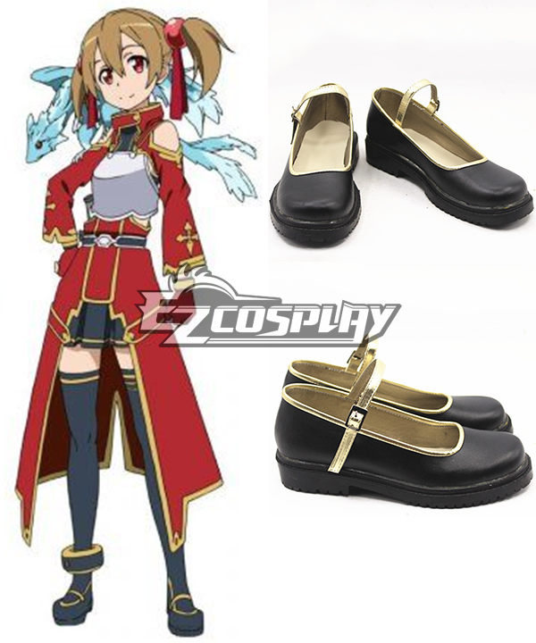 Sword Art Online Silica (Keiko Ayano) Cosplay Shoes