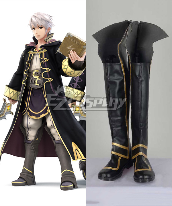 Fire Emblem: Awakening Male Robin Cosplay Shoes Boots