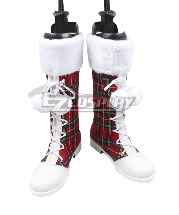 LoveLive! Love Live Christmas Boots Cosplay Shoes Version A