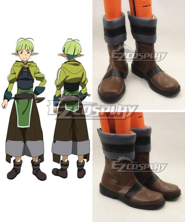 Sword Art Online ALfheim Online SAO ALO Nagata Shinichi Recon Brown Cosplay Boots