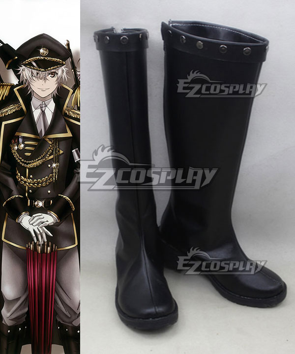 K Return Of Kings Isana Yashiro Black Shoes Cosplay Boots