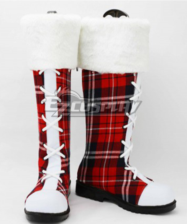 LoveLive! Love Live Christmas Boots Cosplay Shoes Version C