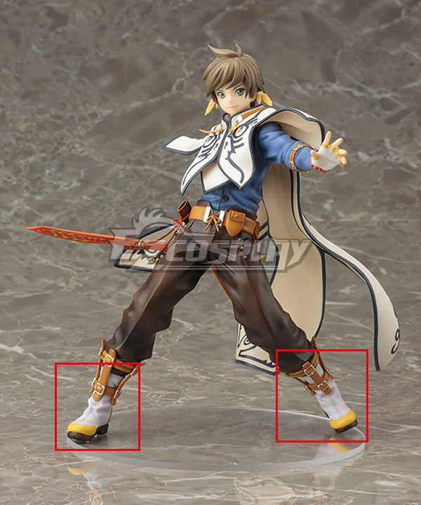 Anime Costumes COSS0603 Tales of Zestiria the X Sorey White Cosplay Shoes