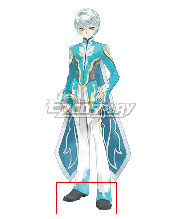 Anime Costumes COSS0643 Tales of Zestiria the X Mikleo Black Cosplay Shoes