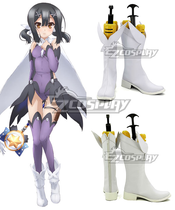 Fate Kaleid Liner Prisma Illya Miyu Edelfelt White Shoes Cosplay Boots None