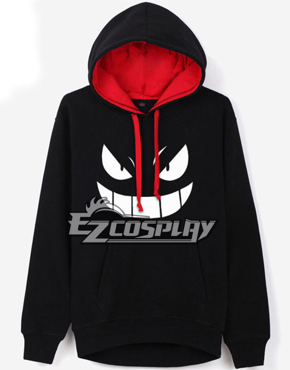 New Arrival Pocket Monsters Pok��mon Gengar Autumn Clothes Sweatershirt hooded Cosplay Hoodie