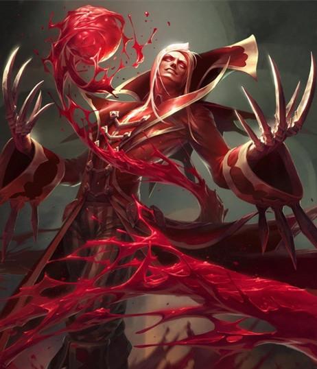 League of Legends The Crimson Reaper Vladimir Csoplay Costume