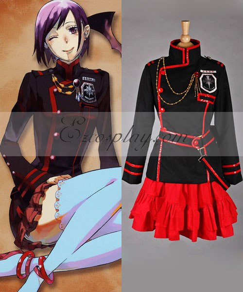 Image of D.GrayMan Lenalee 3Rd Uniform Cosplay Costume