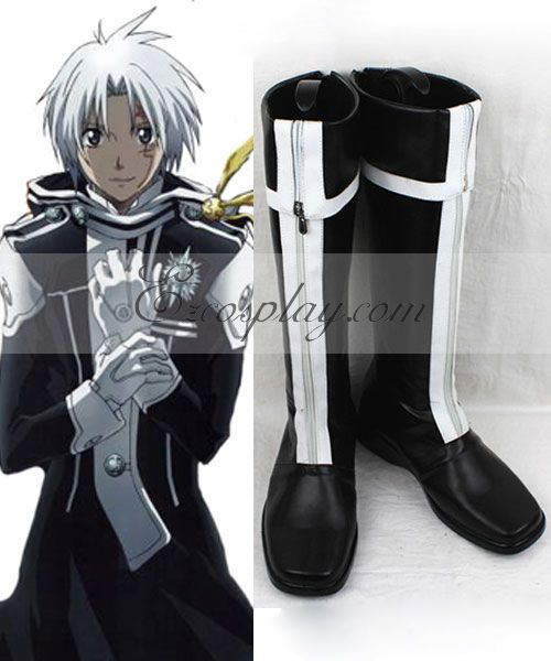Image of D Gray man Allen Walker 1st Uniform Cosplay Boots