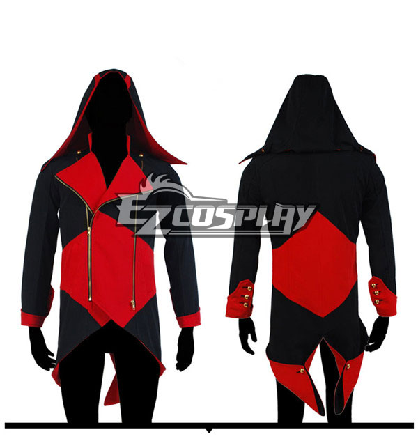 Assassin's Creed III Connor Render Daily Wear Jacket Cosplay Hoodie