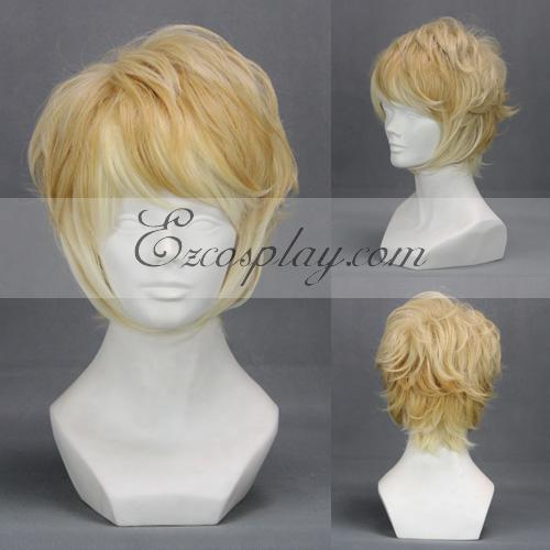 Diabolik Lovers Light Yellow Cosplay Wig-303D