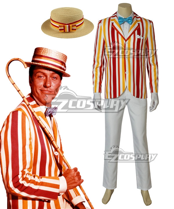 Edwardian Men's Fashion & Clothing Disney Mary Poppins Returns Bert Cosplay Costume $126.99 AT vintagedancer.com