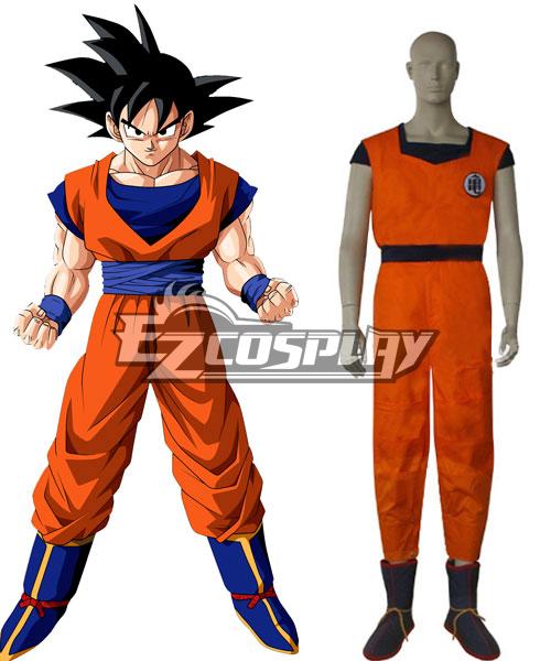 Dragon Ball Goku Pratising Clothing Cosplay Costume