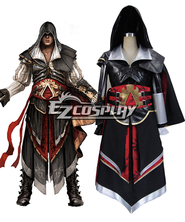 Assassin's Creed II Ezio Altair Armor Cosplay Costume