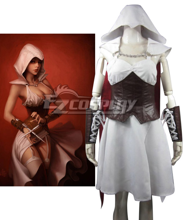Assassin's Creed III Connor Kenway Female Edition Cosplay Costume None