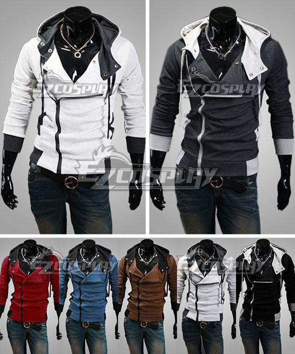 Assassin's Creed III Connor Kenway Coat Hoodies Cosplay Costume None