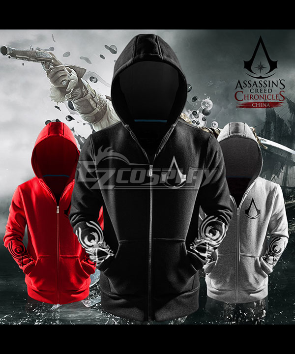 Assassin�s Creed Chronicles China Shao Yun Coat Hoodies Cosplay Costume