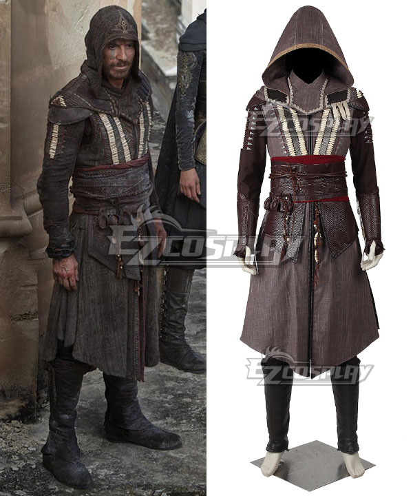 EAC0046 Assassin's Creed Callum Lynch Aguilar de Nerha 2016 Movie Cosplay Costume