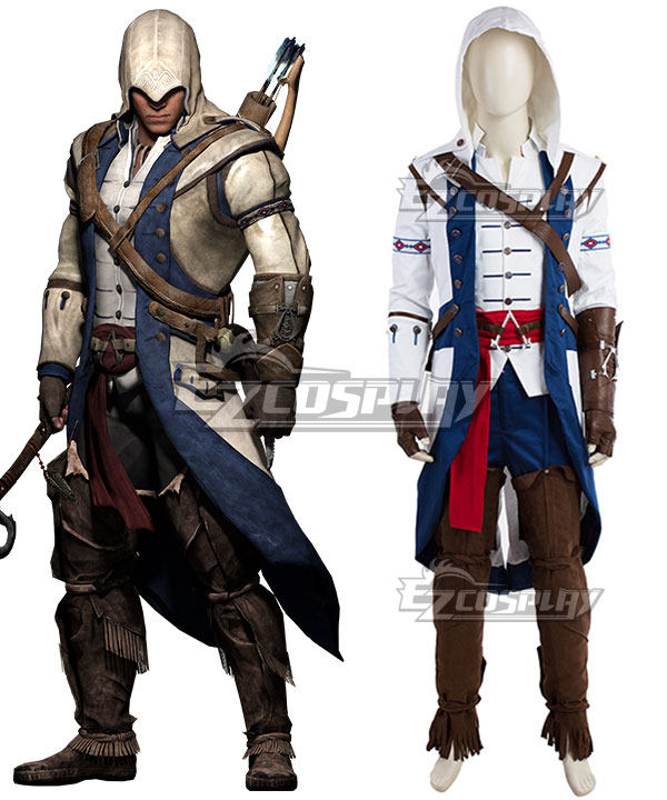 Assassin's Creed III Ratohnhake:ton Connor Kenway Cosplay Costume None