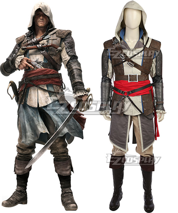 Assassin's Creed IV:Black Flag Edward Kenway Cosplay Costume None
