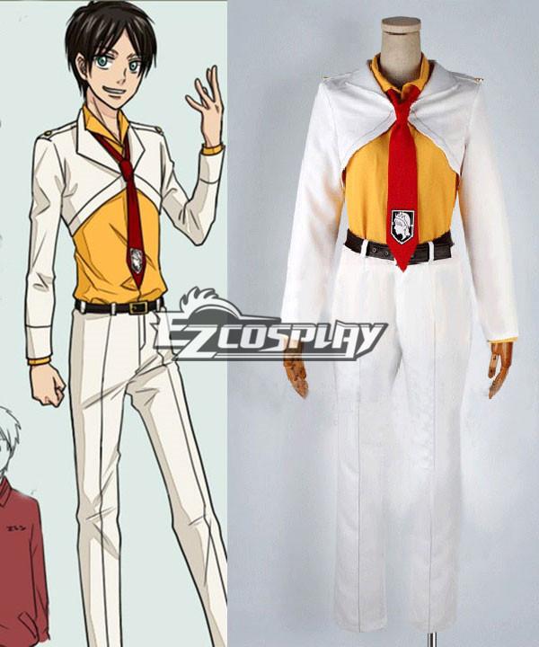 Shingeki no Kyojin (Attack on Titan) Eren Boys Uniform Cosplay Costume