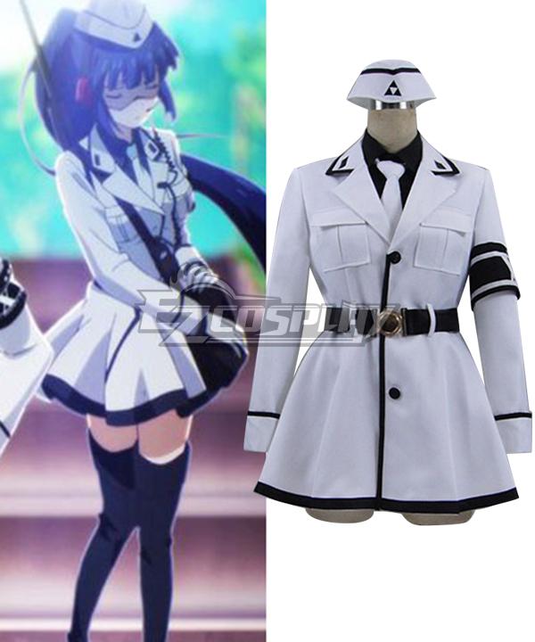 Aoharu x Machinegun Aoharu x Kikanjuu Ichi Akabane Combat Cosplay Costume