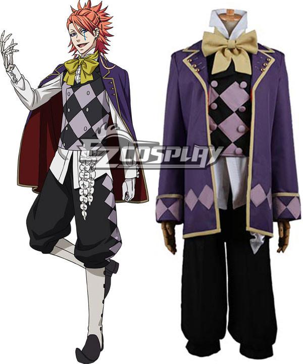 Black Butler Book of Circus Joker Cosplay Costume None
