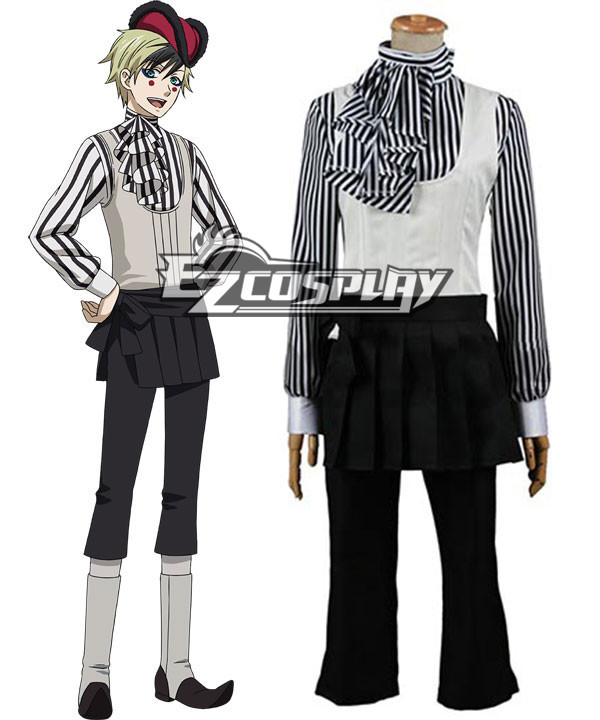 Black Butler Book of Circus Dagger Cosplay Costume None